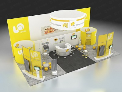 Design Of Upsolar Foreign Exhibition
