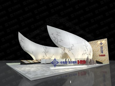 Wan Ye Ceramic Design Week Booth design